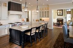 Traditional Home Kitchen Island Design, Pictures, Remodel, Decor and Ideas - page 23