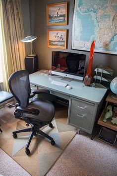 How to make your own office chair mat