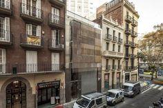 ARTE, ARQUITECTURA Y DISEÑO: VIVIENDAS ENTRE MEDIANERAS EN BARCELONA. JOSEP LLUÍS MATEO