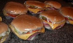Kmart Sub s - a Blast from the Past!  I worked at KMart in the 70s and we used real sub buns~and when I gave breaks to the deli, I bet I made 3 dozen an hour! They were delicious and everyone knew it!