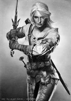 She is done! My completed graphite pencil drawing of Ciri from the Witcher III. Drawn from reference. I must admit this is my favorite drawing of this year so far. Hope you guys enjoy. Have a nice ...
