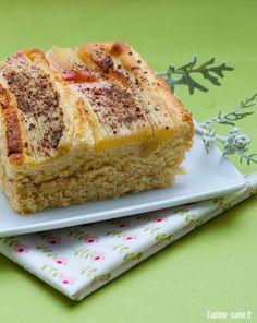 Recette bio : gâteau ultra moelleux à la rhubarbe- J'ai essayé avec des pommes, très léger, très moelleux. Je mettrai moins de sucre la prochaine fois. Fat and gluten free, génial!