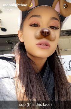 Ariana  on snapchat