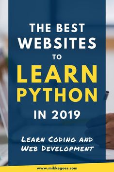 Learn coding and web development with these top Python courses and tutorials for beginners! Find out where to discover the best books, ideas, and tips for Programming Tutorial, Learn Programming, Python Programming, Computer Programming, Learning Web, Learning How To Learn, Coding For Beginners, Coding Courses, Computers