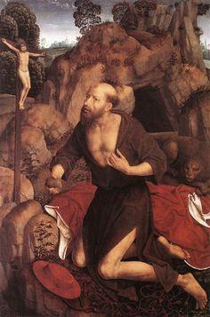 St. Jerome, 1485-1490 - Hans Memling