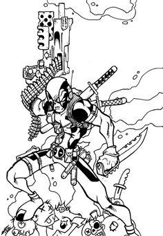 #Deadpool #Fan #Art. (DEADPOOL) By: Dreekzilla. ÅWESOMENESS!!!™ ÅÅÅ+     https://s-media-cache-ak0.pinimg.com/564x/6f/14/14/6f1414255a11d1ad8e80ead64f851f67.jpg