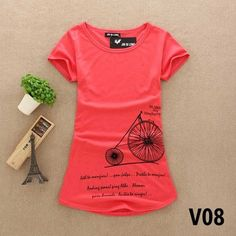 O-Neck Short Sleeve Stretch Cotton Tees