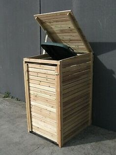 Single Wheelie Bin Cover - Hide those ugly bins! Designed to fit standard council bin. Fake Lawn, Fake Grass, Fix U, Lawn Turf, Garden Bags, Plant Supports, White Planters, Artificial Turf, Terrace Design