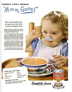 Campbell's soup for baby