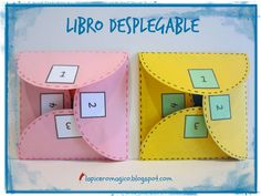 LAPICERO MÁGICO: Libro desplegable Spanish Lessons, Teaching Spanish, Teaching English, Science Projects, School Projects, Classroom Activities, Classroom Decor, English Activities, Fun Fold Cards