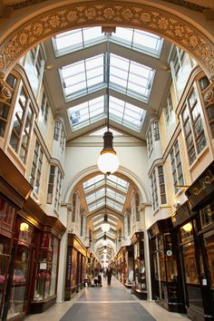 Burlington Arcade - all things beautiful