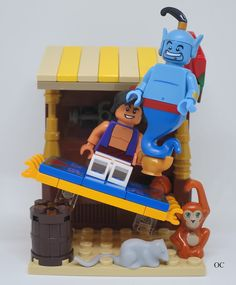 Aladdin & Genie