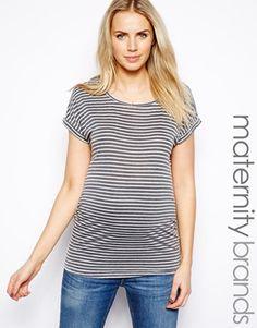Longline t-shirt style maternity dresses