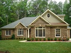Attrayant Brick Ranch Style Home! | Future Home | Pinterest | Brick Ranch, Ranch  Style And Ranch