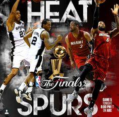 NBA Finals 2014 Miami Heat vs San Antonio Spurs Game 5