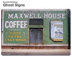 Pauls Valley, Oklahoma.  This sign was originally painted by my uncle, Glen Avera.  It has since been restored.