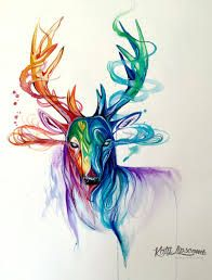 Resultado de imagen para dragon watercolor