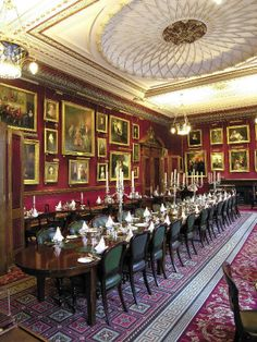 The Coffee Room in The Garrick Club, London. The Garrick Club was founded in 1831 and named after the 18th century actor David Garrick, a Gentleman's club and one of the coolest