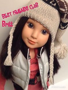 MGA-Best-Friends-Club-Inc-18-BFC-Ink-Pen-Pal-Doll-Britt-Custom-Winter-Outfit