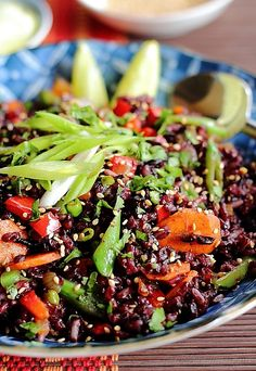Akshayapaatram: Thai Black Rice Salad +++ Visit our website and get your free recipes now!
