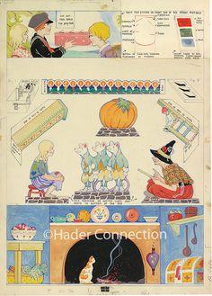 Hader paper doll_Good Housekeeping magazine; 1920s