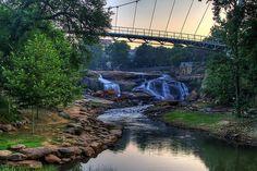 Greenville, SC Falls Park