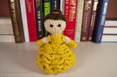 Belle (Beauty and the Beast) FREE Amigurumi Pattern