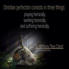 Saint Quotes, Catholic, Pray, Saints, Christian, Movie Posters, Movies, Films, Film Poster
