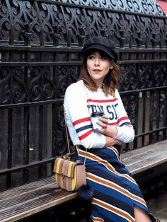 Blogger Megan Ellaby hits London Fashion Week in style with a few of our key pieces for SS16