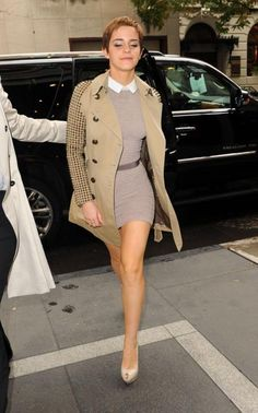 """Emma Watson - love the whole outfit but the jacket is a """"need"""""""