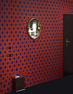 custom crazy curved wallpaper