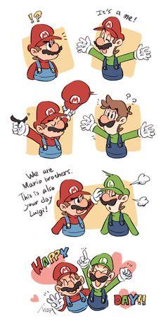 Mario And Luigi, Mario Bros, Super Mario Art, Super Smash Bros, Nintendo, Comics, Character, Twitter, Friends