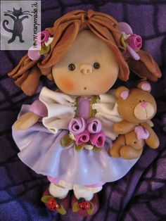 *POLYMER CLAY ~ Unique Collectible Doll | Flickr - Photo Sharing!