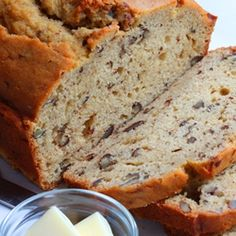Maple-Pecan Bread is perfect to serve at your Brunch or Tea.