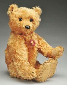 24: Rare 20-Inch Steiff Rod Constructed Teddy Bear. : Lot 24