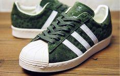 timeless design 1e2fa d434f ADIDAS ORIGINALS 80S GREEN BLACK M20927  196.00
