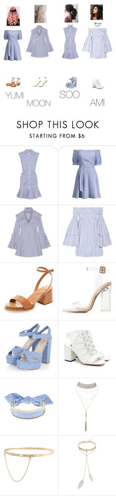 """Squad Girls [Comeback Stage]-Alarm"" by junsoo ❤ liked on Polyvore featuring Veronica Beard, Caroline Constas, Tod's, Charlotte Russe, Senso, Monica Sordo, Eddie Borgo and Bølo"