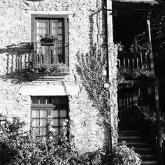 Countryhouse from Keep walking project by Yury Krylov (Follow me design) #camino #elcamino #caminodesantiago #spain #europe #galicia #vacation #trip #travel #summer #walk #pilgrim #way #road #bw #black #blackandwhite #highcontrast #photography #art #nature #countryhouse #house #home #decoration #architecture #flowers #small #town