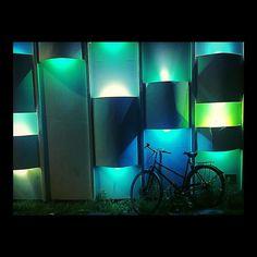Bike by night. #bike #night #bicyclette #velo #soir #nuit #fahrrad #copenhagen #copenhague #denmark #danmark #danemark #scandinavia #scandinavie