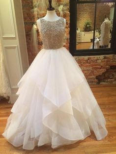 Modest Prom Dress,Layered Tulle Prom Dress,A Line Prom Dress,Fashion Prom Dress,Sexy Party Dress, New Style Evening Dress