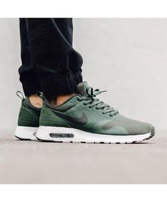 brand new 12405 1d34b Order Nike Air Max Tavas Womens Shoes Official Store UK 2018 Green  Sneakers, Men s Fashion