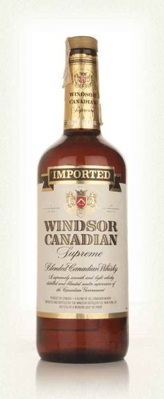 Windsor Canadian Supreme Blended Whisky - 1970s