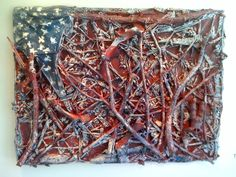 We All Live Under the same Old Flag, Thornton Dial, 2010