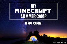 DIY Minecraft Summer Camp: Day One