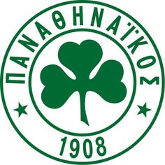 Panathinaikos Athlitikos Omilos (Παναθηναϊκός Αθλητικός Όμιλος / Panathinaikos Athletic Club) | Country: Greece / Ελλάδα. País: Grecia. | Founded/Fundado: 1908/02/03 | Badge/Crest/Logo/Escudo.
