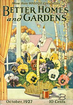 BHG with pansies