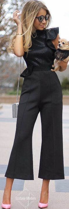 Self-Portrait Jumpsuit // Fashion Look by Style it with Trix