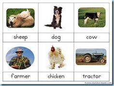 Farm Nomenclature Cards