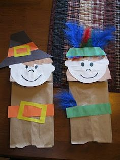 Preschool Crafts for Kids*: pilgrims