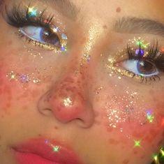 Indie Makeup, Edgy Makeup, Makeup Eye Looks, Cute Makeup Looks, Eye Makeup Art, Pretty Makeup, Skin Makeup, Makeup Inspo, Makeup Inspiration